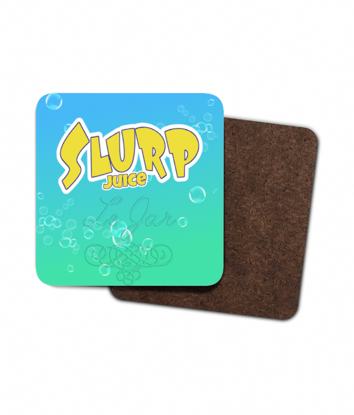 Fortnite Slurp Juice Drink Single Hardboard Coaster